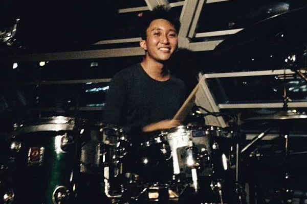drum instructor singapore liang hong