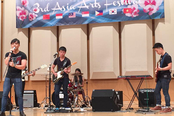the music lab student concert